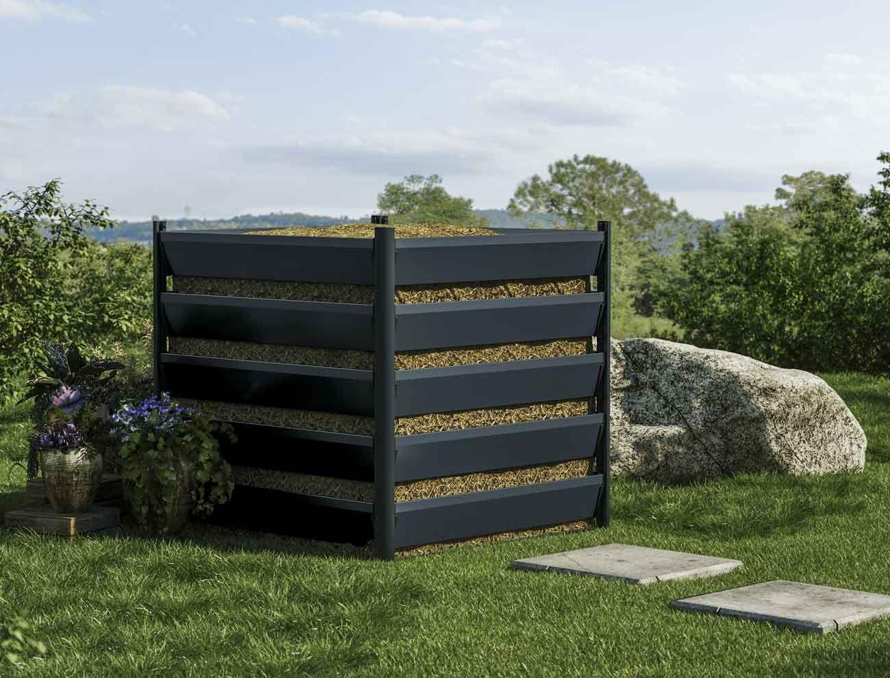 komposter-110x110-5h-grau-geschlossen