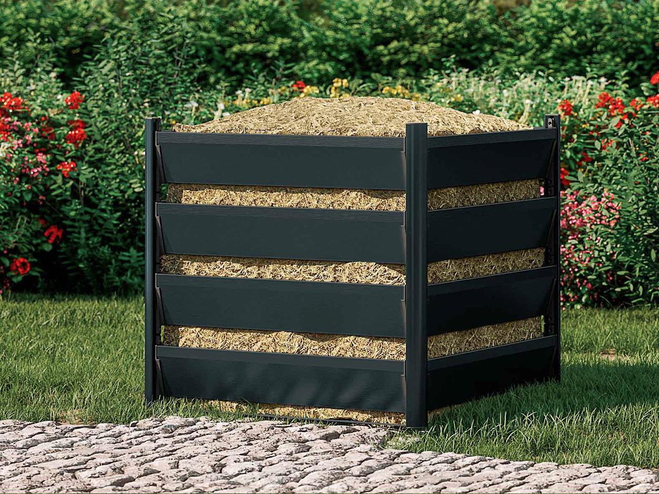 komposter-90x90-5h-grau-geschlossen