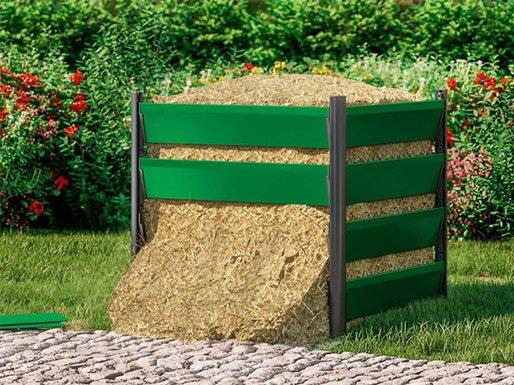 Design Komposter Aluminium